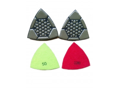 Triangle Polishing Pad